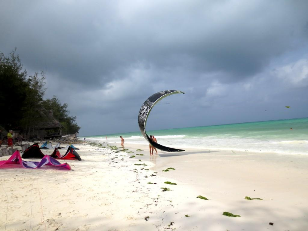 ndame beach lodge zanzibar is close to kite surfing centres