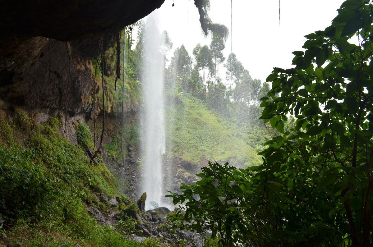 Hike to Sipi Falls in Uganda