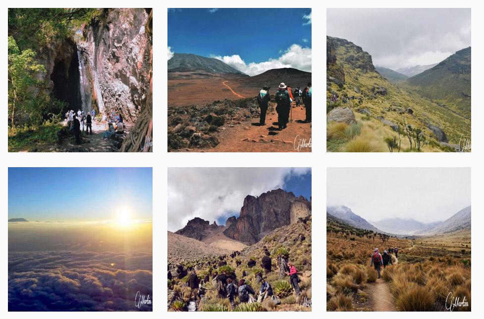 kenya instagram hiking photos