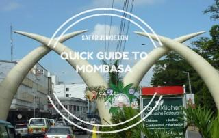 quick travel guide to Mombasa Kenya