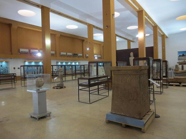 sudan national museum khartoum inside