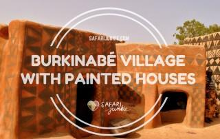 Tiebele-Burkinabe-Village-With-Painted-Houses
