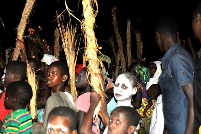 bugum chugu fire festival norhern Ghana