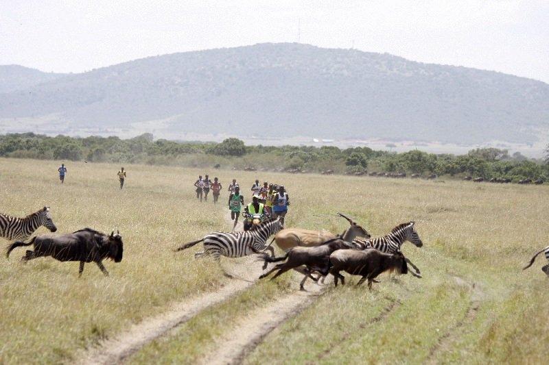 marathons africa kenya maasai mara marathon