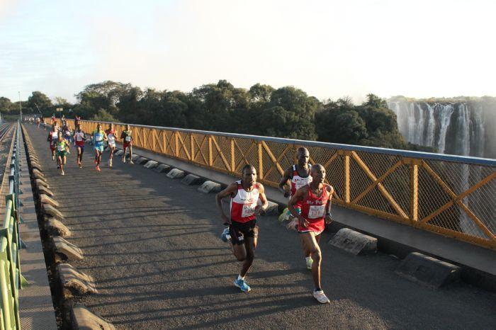victoria falls marathon zambia zimbabwe