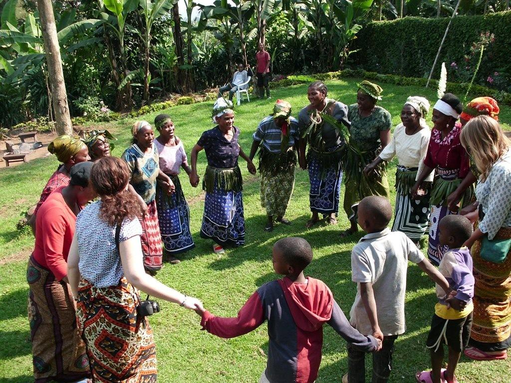 chagga village traditional dance Tanzania