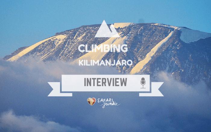 climbing trekking Kilimanjaro Mountain interview