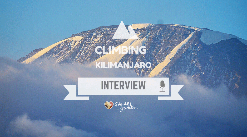 climbing trekking Kilimanjaro Mountain interview