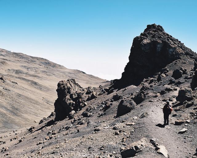 gilmans peak Kilimanjaro trekking Marangu route