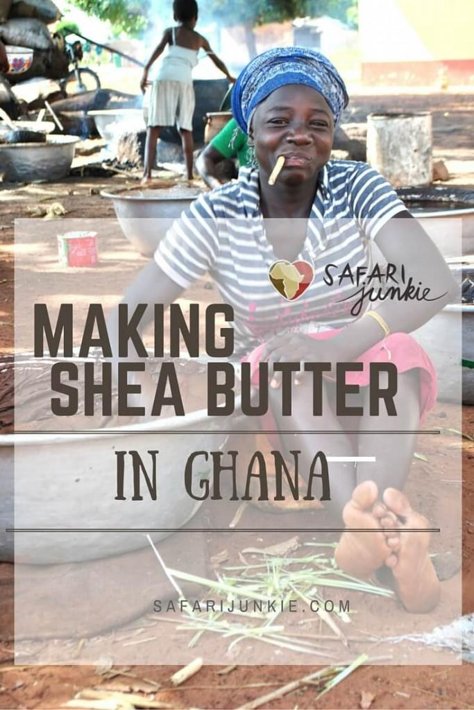 shea karite butter production in africa ghana women empowerment