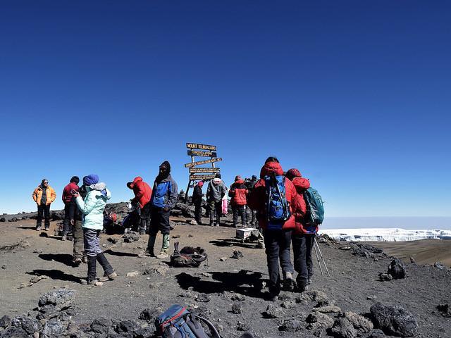 uhuru peak kilimanjaro climb