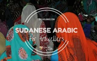 sudanese arabic for travellers