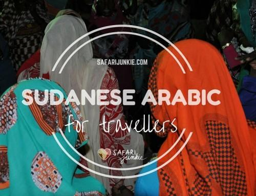 Basic Sudanese Arabic Travel Phrases