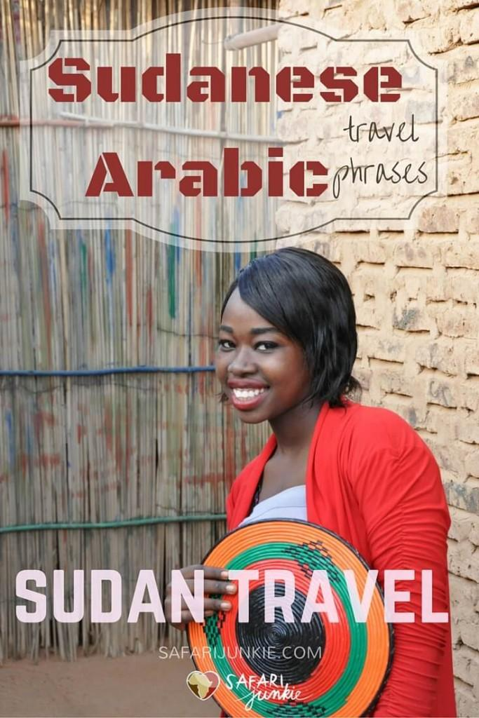 sudanese arabic travel phrases