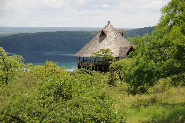 Crater Lake Chala Tanzania