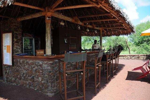 Lake Chala bar