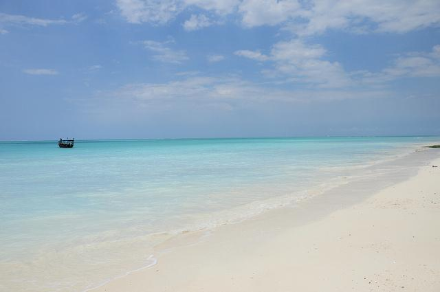 Guide to Zanzibar beaches Nungwi quiet beach