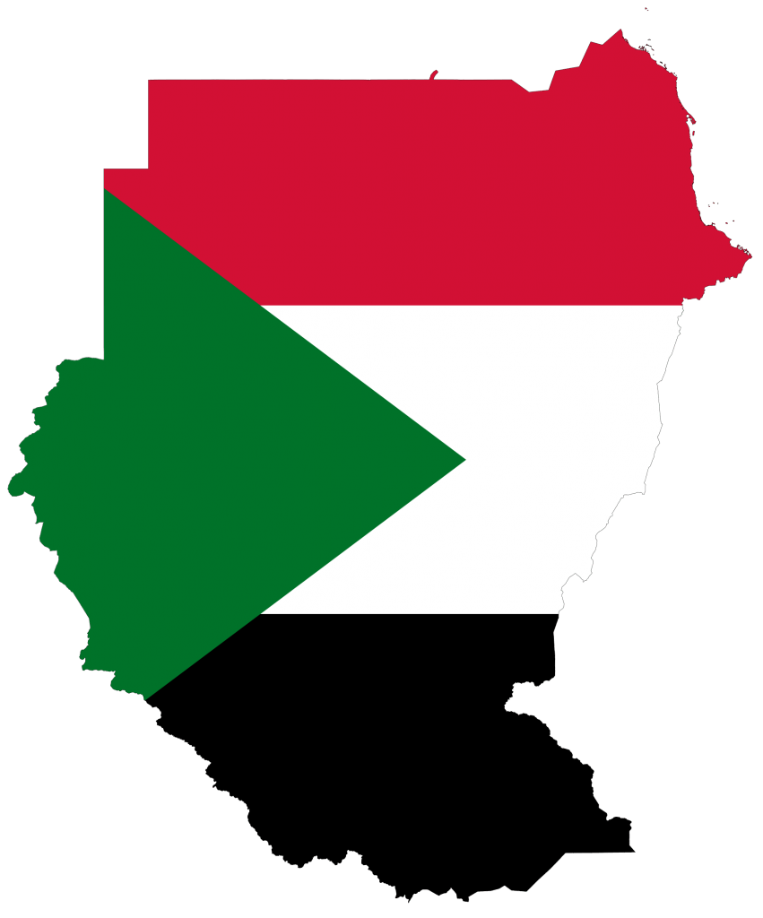 sudan travel guide flag