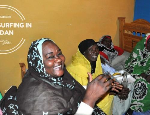 Couchsurfing in Sudan With Local Family