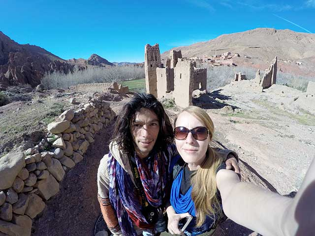 Trekking Morocco Dades Valley canyons
