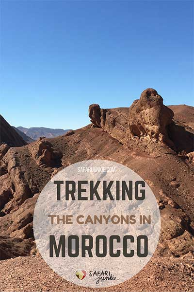 Morocco trekking Baumalne dades canyons