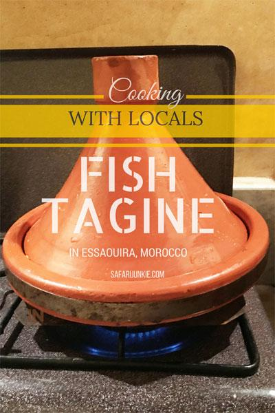 Fish tagine recipe essaouira morocco
