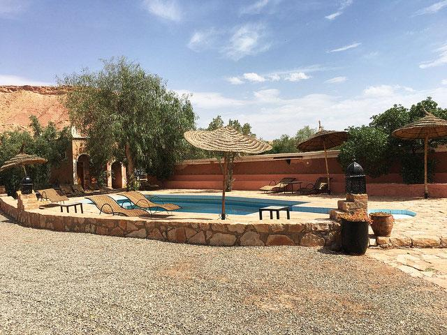 where to sleep in ait ben haddou ouarzazate