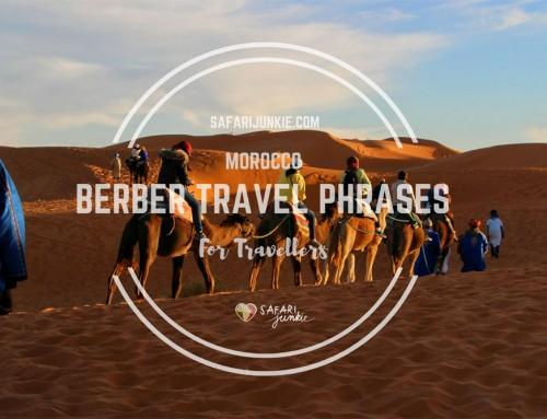 Berber Phrases for Travel to Morocco