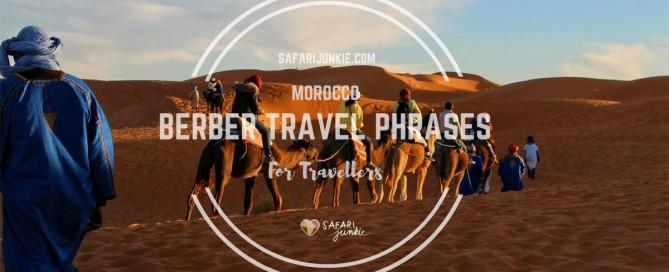 berber travel phrases for morocco