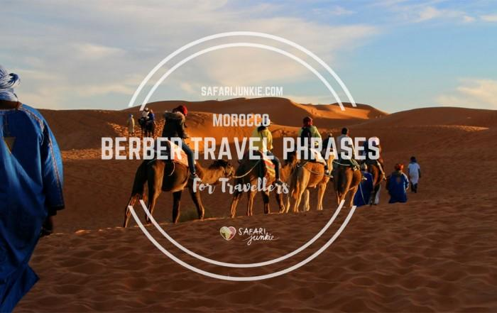 berber travel phrases for morocco