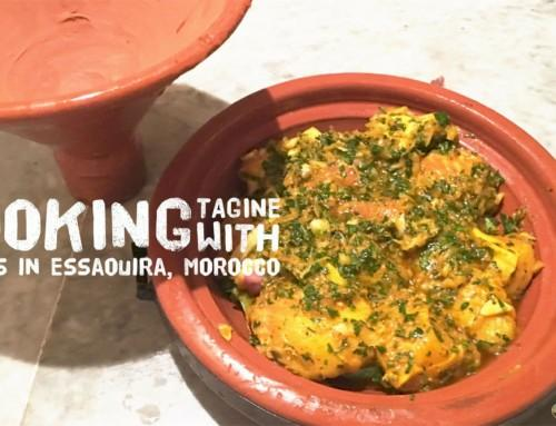 Cooking Fish Tagine in Essaouira