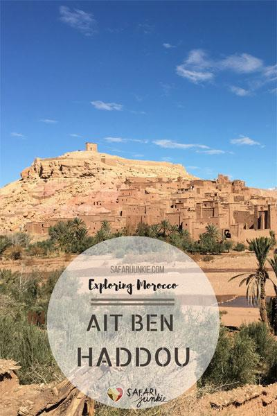 morocco trips from marrakech ait ben haddou day trip