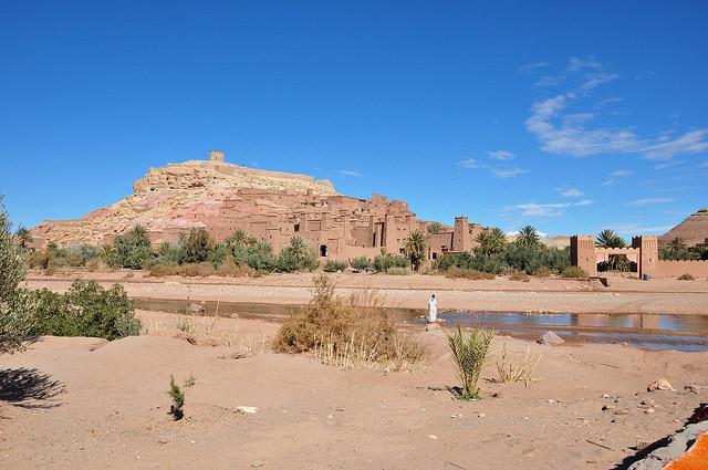 panorama ait ben haddou morocco