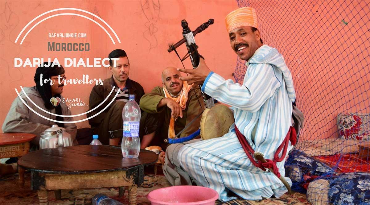 Moroccan Darija Travel Phrases Safari Junkie