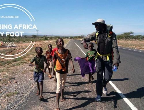 Crossing Africa by Foot