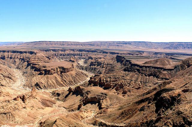 Best of Africa Fish River canyon hike Namibia