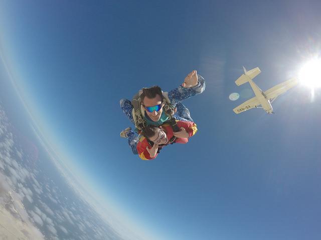 Best of Africa skydiving Swakopmund Namibia.