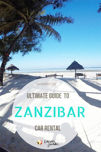 Car rental Zanzibar Guide