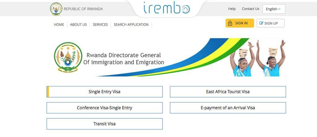East Africa Visa online guide Rwanda DR Congo