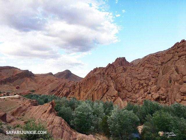 best african destinations Morocco Monkey Fingers Canyon Trekking Dades Valley