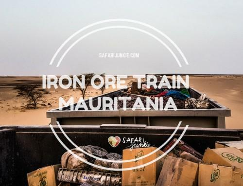 Riding Iron Ore Train in Mauritania