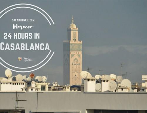 24 Hours in Casablanca Morocco