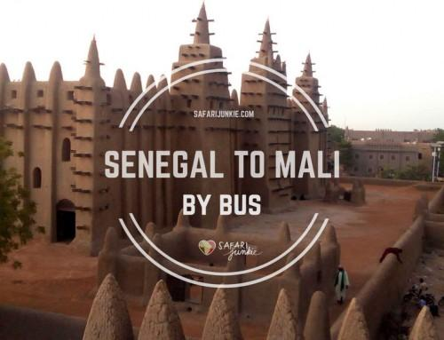 Travelling from Senegal to Mali by Public Transport