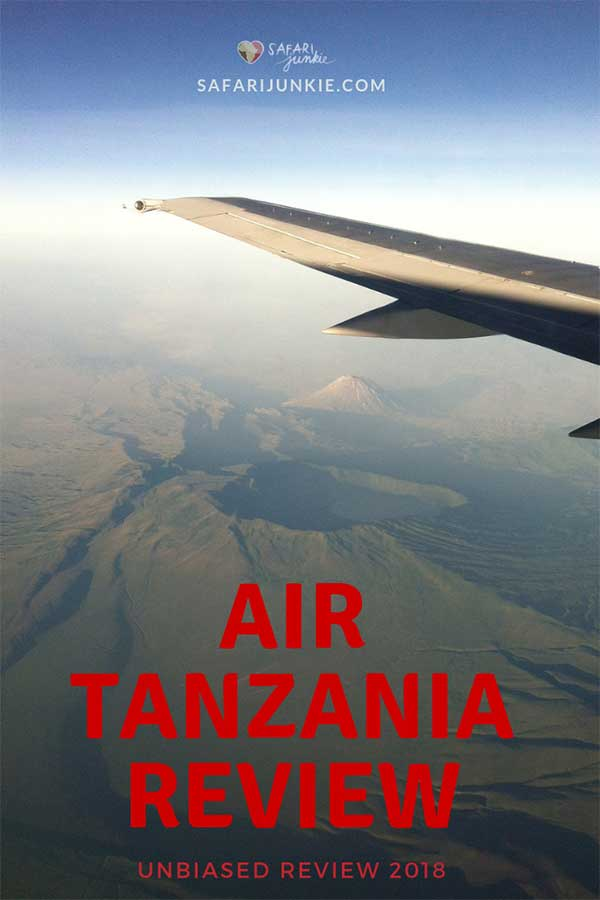 Air Tanzania traveller review 2018- 2019