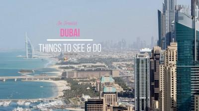 Things to do in Dubai travel guide