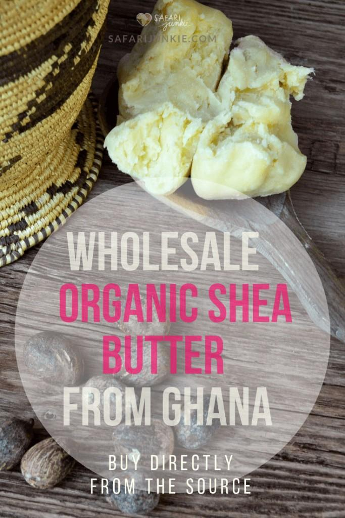 Wholesale Organic Shea Butter From Ghana