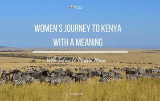 Women's Journey to Kenya Masai Mara safari
